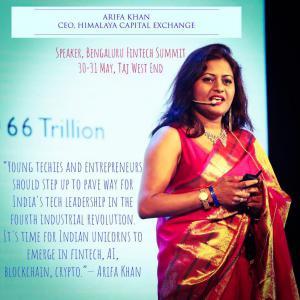 Arifa Khan, Founder of Fintech Storm'