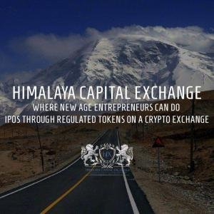 HImalaya Capital Exchange - Home for Digital IPO'