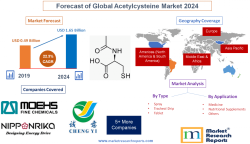 Forecast of Global Acetylcysteine Market 2024'