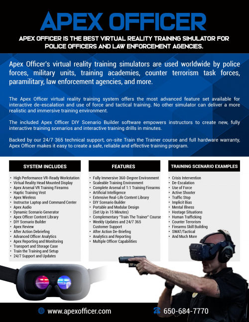 Apex Officer Police VR Training Simulator'