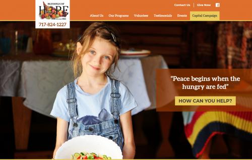 Blessings of Hope Homepage'