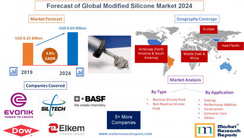 Forecast of Global Modified Silicone Market 2024'