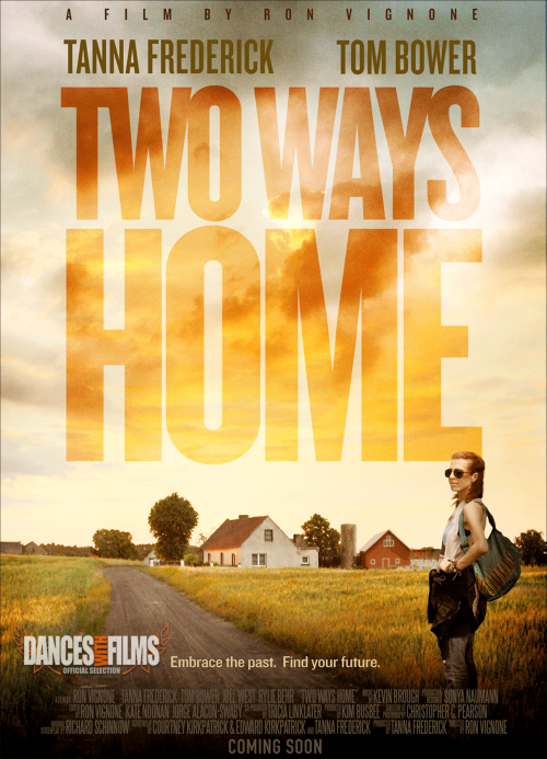 Two Ways Home Official Movie Poster'
