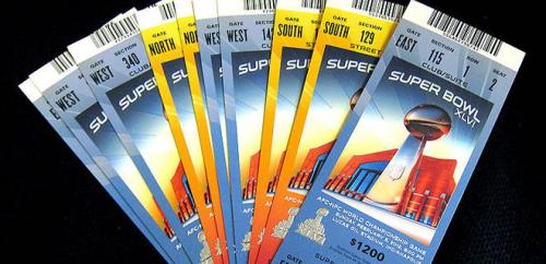 NFL Authentic Super Bowl Tickets'