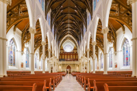 BOSTON'S CATHEDRAL OF THE HOLY CROSS CHOOSES POWERSOFT