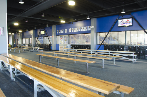 Wichita Ice Center Interior'
