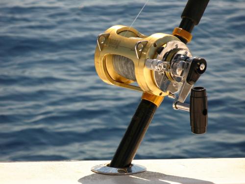 deep sea fishing'