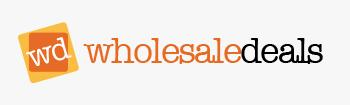 Logo for Wholesaledeals'