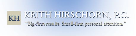 Company Logo For Law Offices of Keith Hirschorn, P.C.'