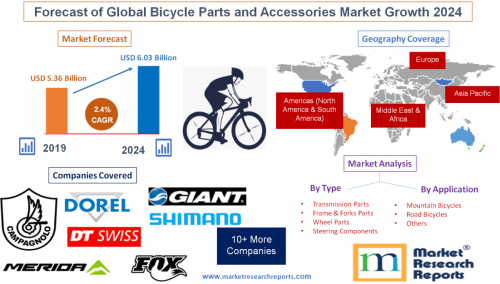 Forecast of Global Bicycle Parts and Accessories Market 2024'