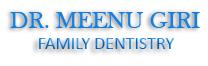 Company Logo For Dr Meenu Giri Family Dentistry'