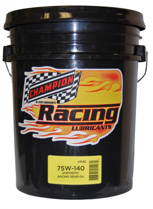 Champion Oil 75w-140 Synthetic Racing Gear Lube'