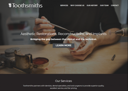 Toothsmiths Home Page'