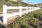Vinyl Fence'