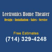 Leetronics Home Theater Logo