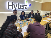 Hytera Emphasises itself as Professional and Private Wireles