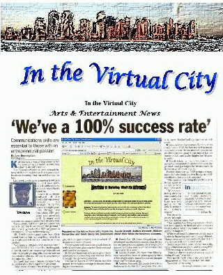 Logo for IN THE VIRTUAL CITY INC'