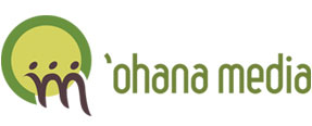 Logo for Ohana Media'