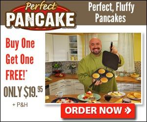 perfect pancake pan'