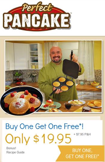 perfect pancake pancake maker'