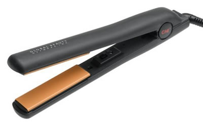 Style your hair with HSI flat iron'