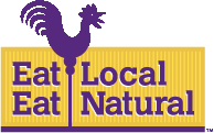 Eat Local Eat Natural Logo