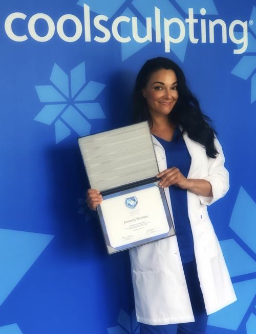Kimberly Woolsey at the CoolSculpting University'