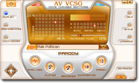 AV Voice Changer Software Gold'