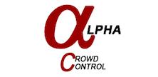 Company Logo For Alpha Crowd Control'