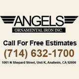 Angels Ornamental Iron Inc. Logo