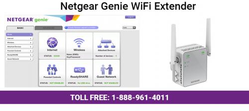netgear genie wifi extender'