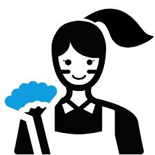 Company Logo For Powderpuff Maids'