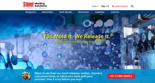 Stoner Molding Homepage Screenshot'