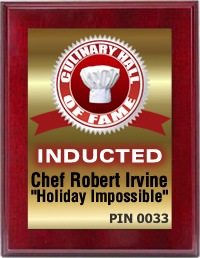 "Chef Robert Irvine and ""Holiday Impossible"" Induct"