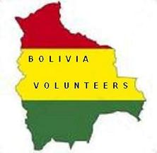 Logo for Bolivia Volunteers'