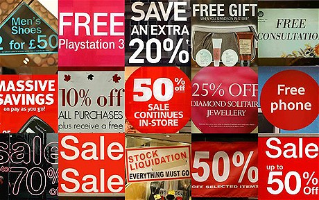 retail discounts coupons'