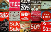retail discounts coupons