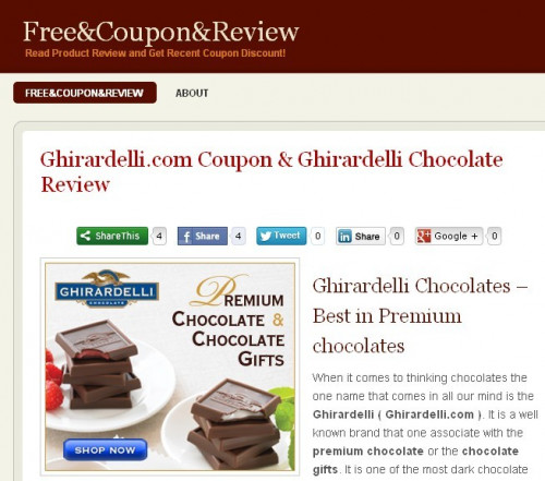 Ghirardelli Chocolate Review'