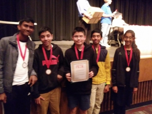 Champion School Team places Fourth Worldwide in Comp. Sci'