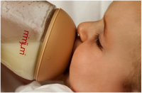 New baby bottle to ease breastfeeding issues