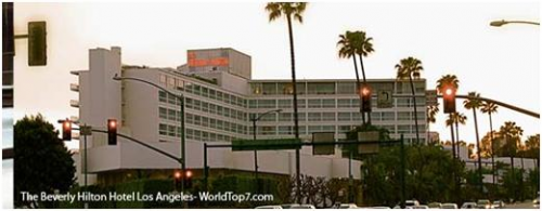 The Beverly Hilton Hotel, Los Angeles'