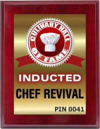 Chef Revival Inducted into the Culinary Hall of Fame