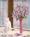 Cat Sapphire Print'