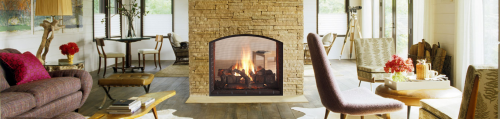 See Through Fireplaces'