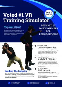 Apex Officer Virtual Reality Training Simulator Police
