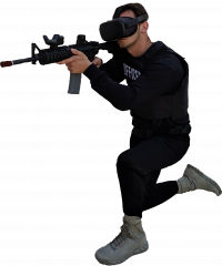 Apex Officer Active Shooter Training Simulator for Police