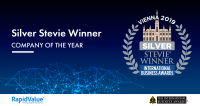 RapidValue Wins SILVER STEVIE® Award in 2019 Interna