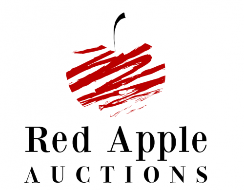 Company Logo For Red Apple Auctions'