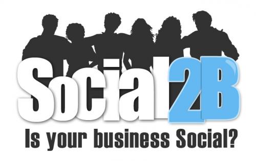 Logo for Social2B'