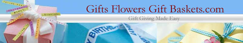 Gifts Flowers Gift Baskets Logo